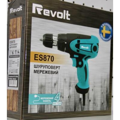Шуруповерт электрический Revolt ES870