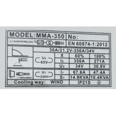 Сварочный инвертор Луч Профи ММА-350