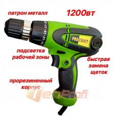 Шуруповёрт сетевой Procraft PB-1200