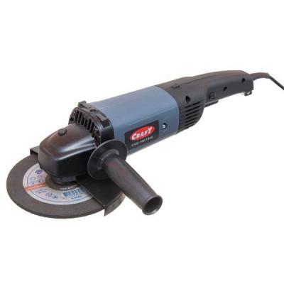Углошлифовальная машина Craft CAG 180/1900 (плавный пуск)