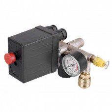 Автоматика для компрессора 380В 20А в сборе (Прессостат, реле)