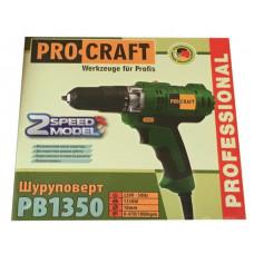 Шуруповерт сетевой Pro-Craft PB 1200 DFR