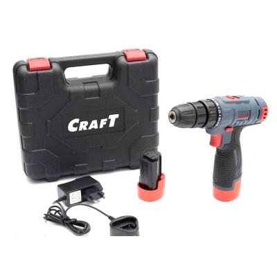 Шуруповерт Craft CAS 12SLS (съёмный патрон)
