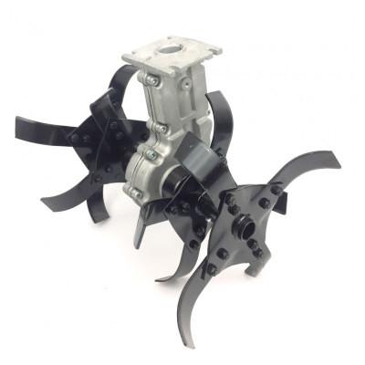 Насадка культиватор для мотокосы X-TREME YK-W004 26мм, 9Т