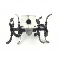 Насадка культиватор для мотокоси X-TREME YK-W004 26мм, 9Т