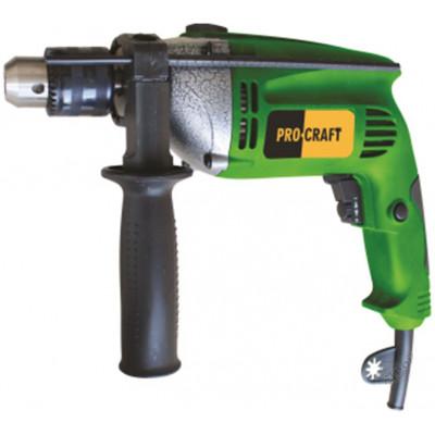 Дрель ударная Procraft PF - 1050 (металлический редуктор)